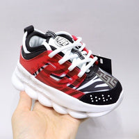 MOF Kids shoes boys & girls best street fashion lace-up sneakers toddler little big kids casual lightweight trainers children school sports shoes