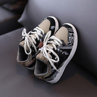 MOF Kids shoes 2020 autumn girls fashion casual sneakers boys brown trainers girls sport shoes