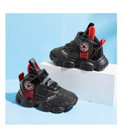 MOF Kids shoes 2020 autumn children street fashion breathable shoes boys casual trainers girls sport sneakers