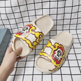 MOF Kids boys girls foam beach summer slides toddler little kids big kids slip-on street fashion sandals children lightweight water pool slippers