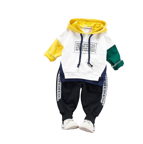 MOF Kids boys tracksuit hooded set
