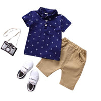 MOF T-shirt + Shorts Pants 2 Pcs Clothes Sets MOF for kids