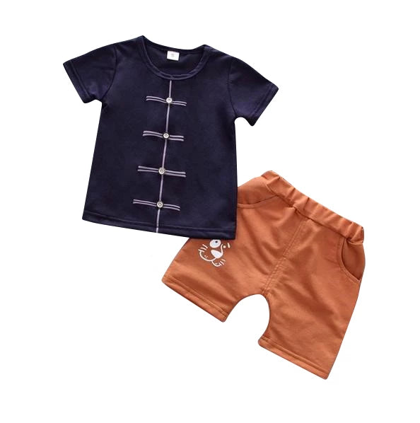MOF Kids boys summer set T-shirt & shorts cartoon print