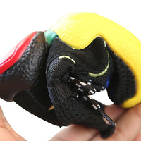 MOF Kids black hi-top knitted sock sneakers Shoes MOF for kids