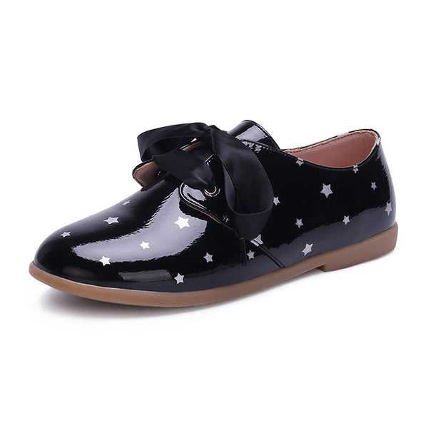 MOF Kids girls lace-up oxford shoes