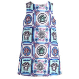 MOF Kids girls jersey dress graphic print