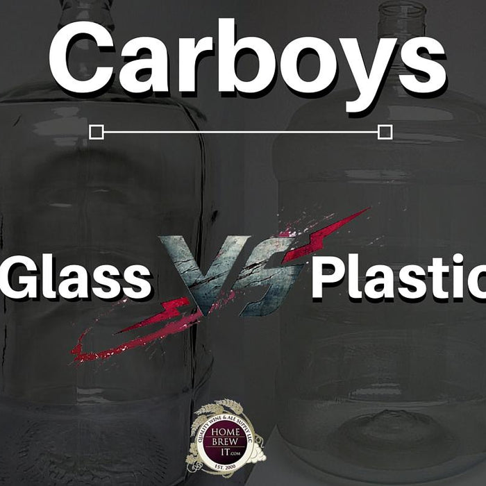 Comparing Glass and Plastic Carboys: Expert Advice