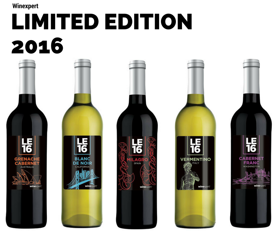 2016 Limited Edition Wine Kits