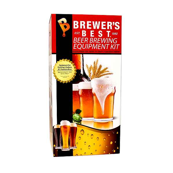 Brewers BEAST Beer Brewing Equipment Kit with Glass Carboy