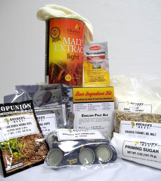 English Pale Ale Brewers Best Classic Beer Making Kit