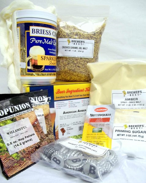 American Amber Brewers Best Classic Beer Making Kit