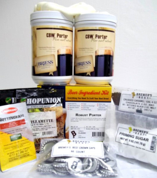 Robust Porter Brewers Best Classic Beer Making Kit