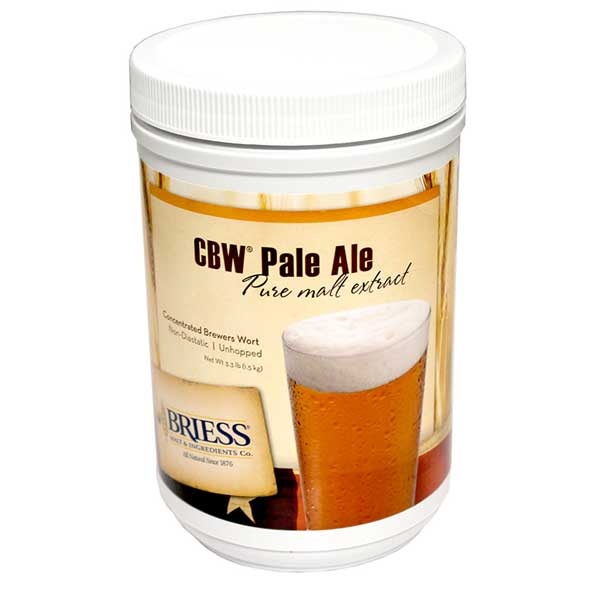 Pale Ale - Briess (USA) Pure Malt Extract - 3.3 Lb. - 6.0 Lovibond
