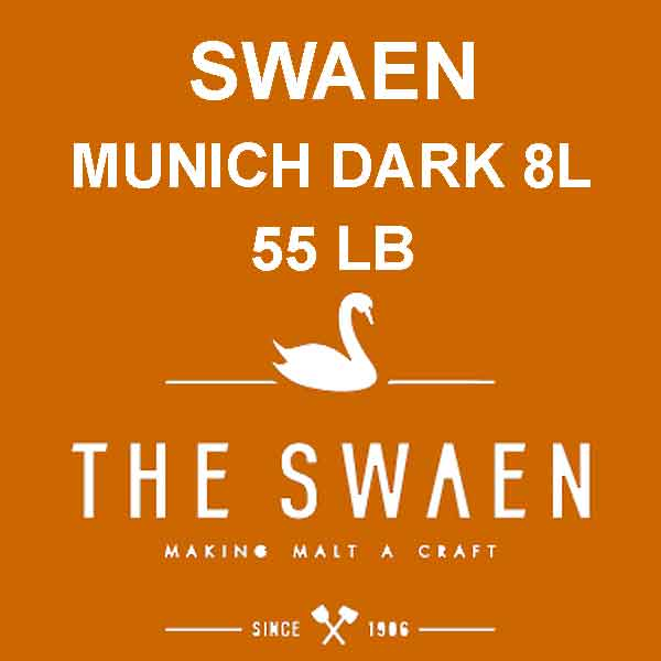 Swaen Munich Dark Malt 55 Lb. (8l)