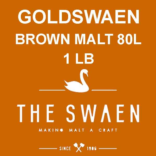 Goldswaen Brown Malt 1 Lb. (80l)