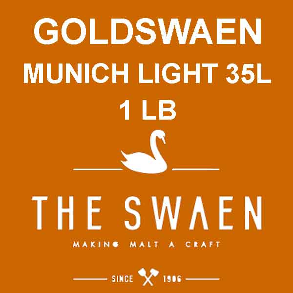 Goldswaen Munich Light Malt 1 Lb. (35l)