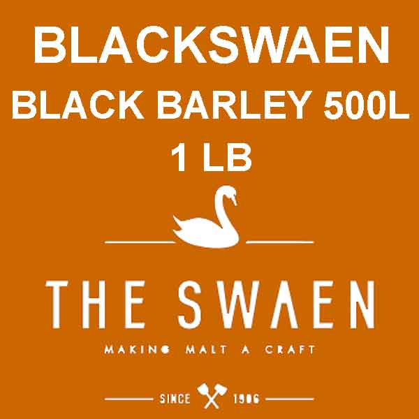Blackswaen Black Barley Malt 1 Lb. (500l)