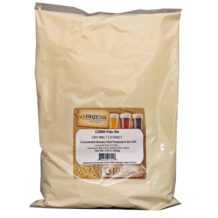 Briess CBW Pale Ale Dry Malt Extract - 3lb