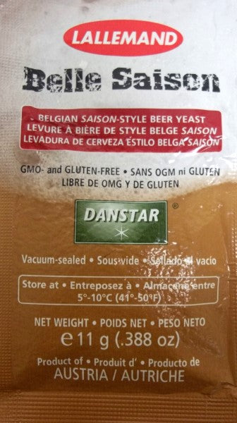 Lallemand Belle Saison Ale Brewing Yeast 11 Gram