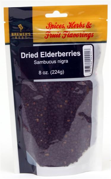 Elderberries Dried - 8 oz