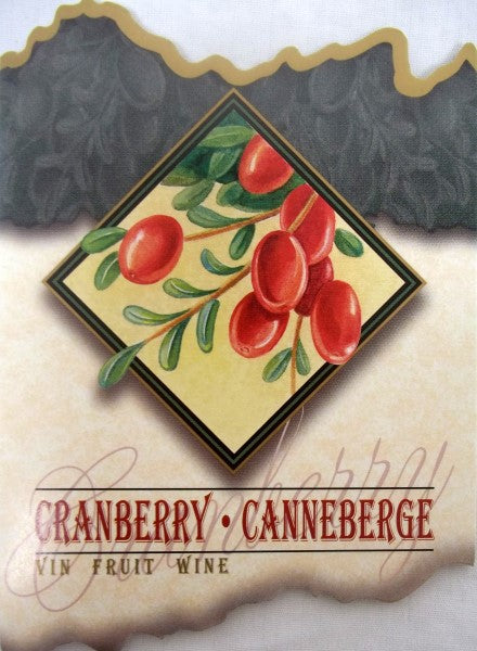 Cranberry Wine Labels