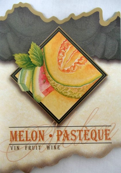 Melon Wine Labels
