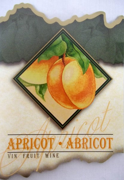 Apricot Wine Labels