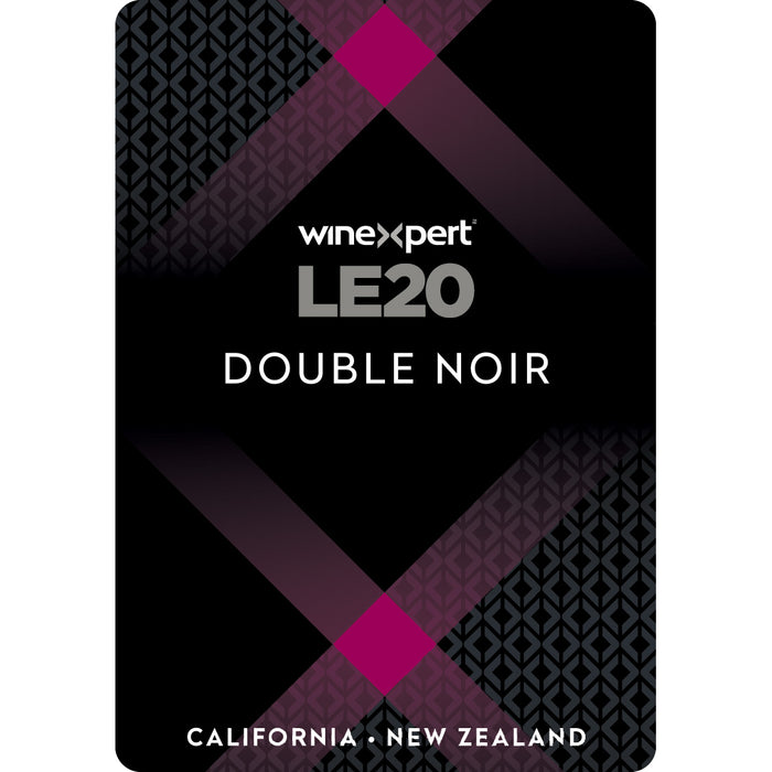New Zealand - California Double Noir Winexpert Limited Edition Wine Making Kit