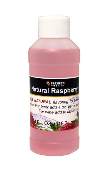 Raspberry Natural Flavoring 4 oz