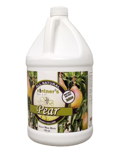 Vintners Best Pear Fruit Wine Base - One Gallon Jug