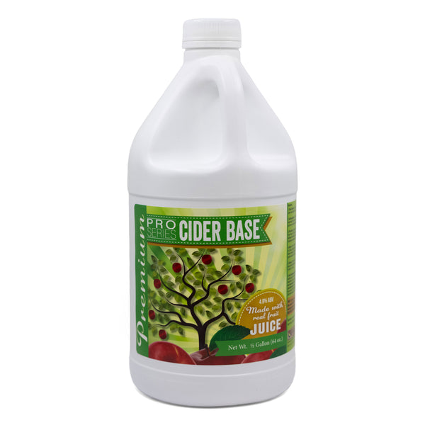 Pro Series Cider Base, One Gallon Jug (Makes 9 Gallons)