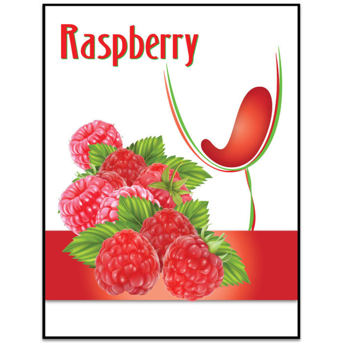 Raspberry Mist Wine Labels