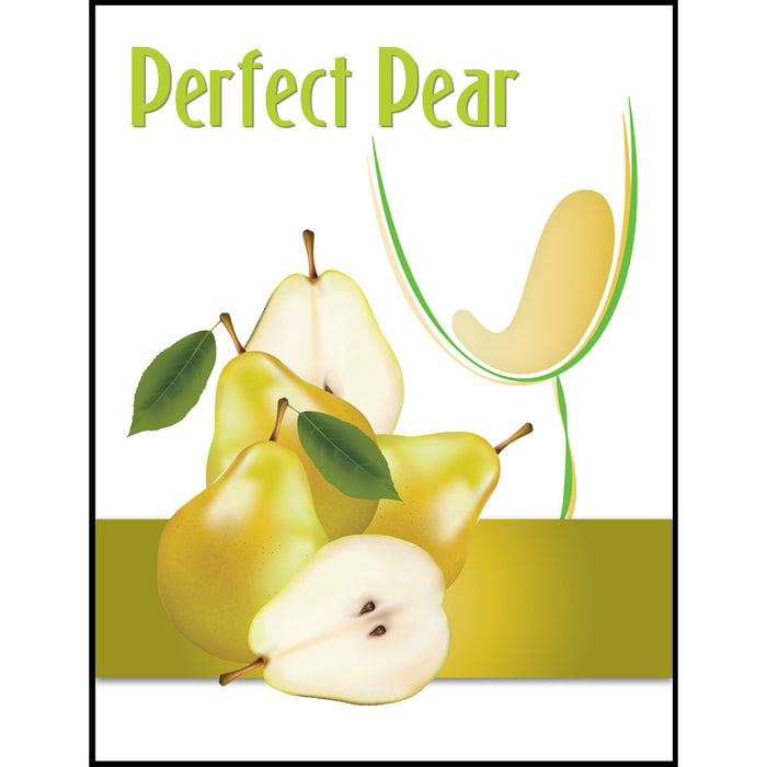 Pear Mist Wine Labels