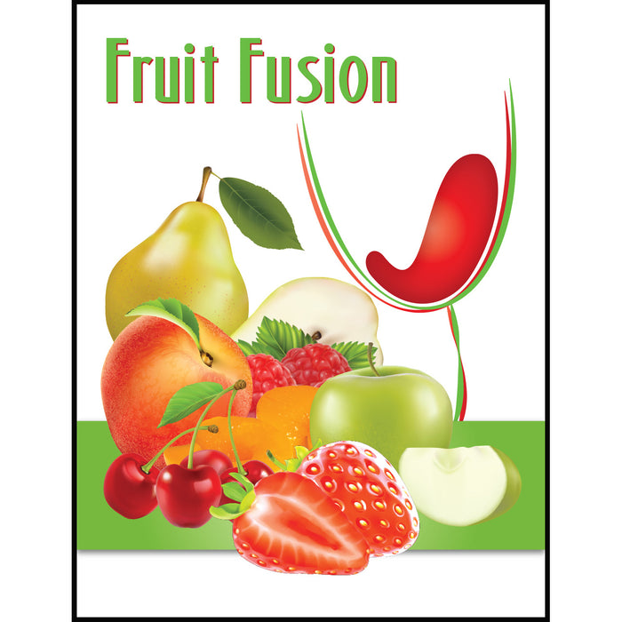 Fruit Fusion Mist Wine Labels