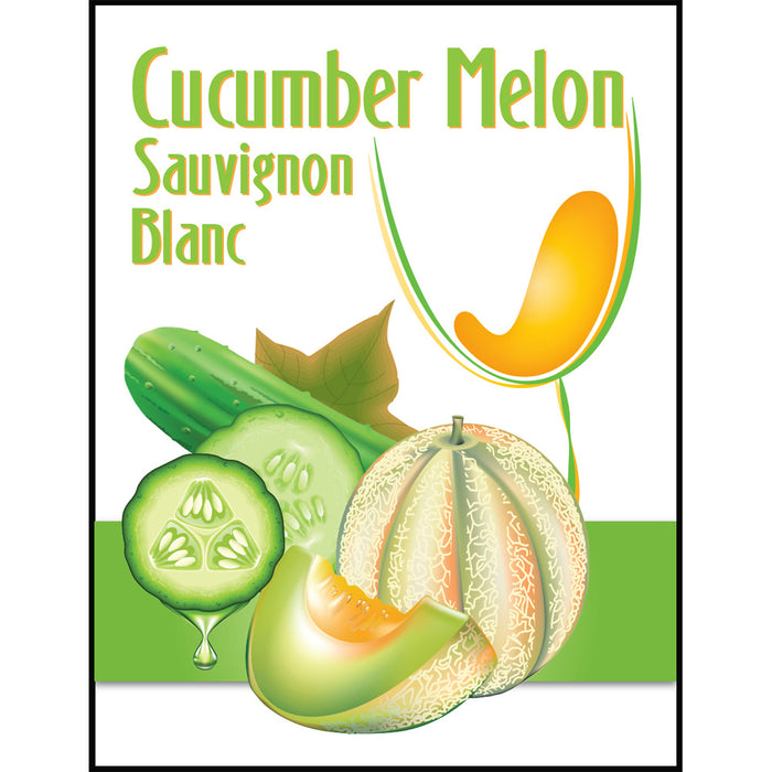 Cucumber Melon Mist Wine Labels