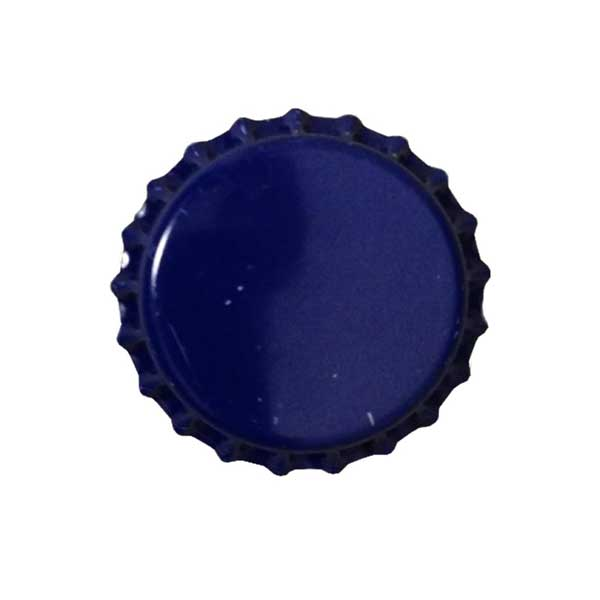 Blue Beer Bottle Caps (Crowns) - 144ct - with Oxy-Liner