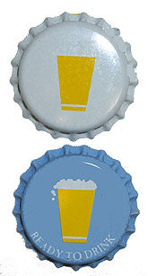 Cold Activated Beer Bottle Crown Caps - 144ct - with Oxy-Liner