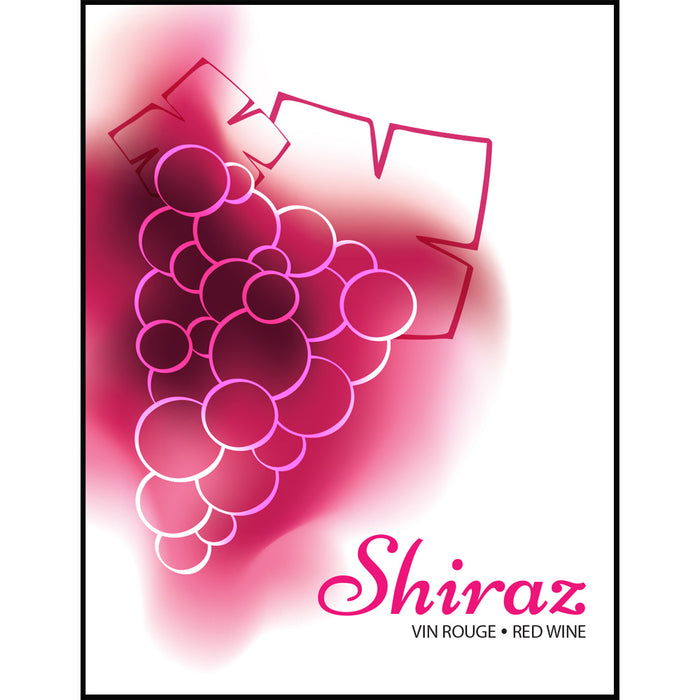 Shiraz Wine Labels