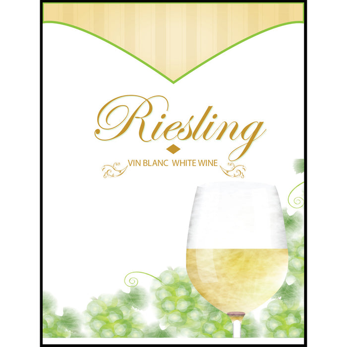 Riesling Wine Labels - 30 Pack