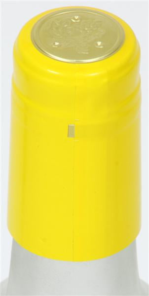 Yellow Shrink Caps - 30 Count