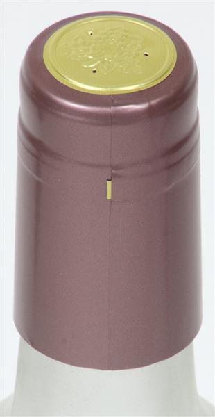 Dusty Rose Shrink Caps - 8000 Count
