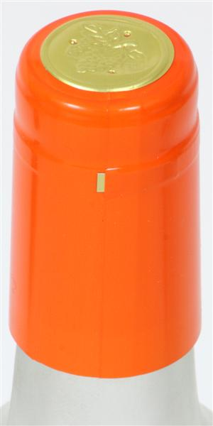 Orange Shrink Caps - 30 Count