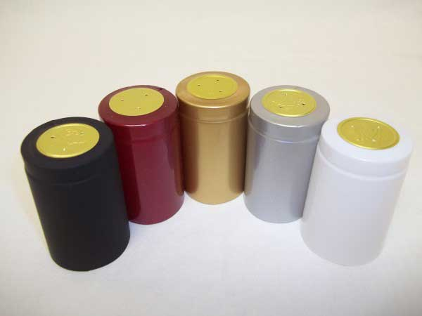 PVC Shrink Capsules - OVERSIZE - Assorted Colors