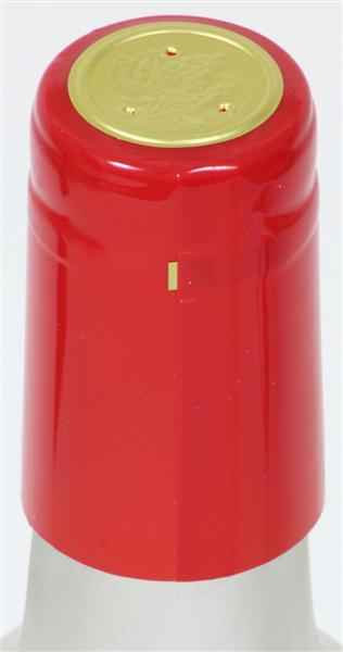 Red Shrink Caps - 500 Count