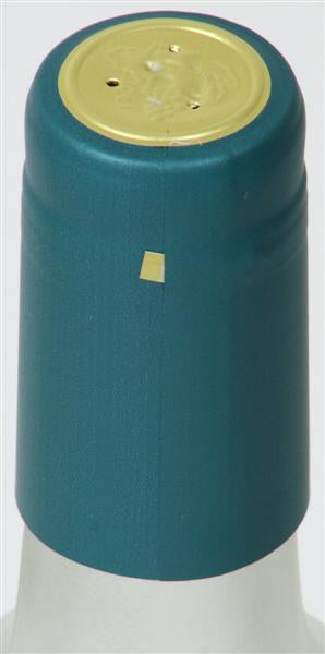 Metallic Blue (Teal) Shrink Caps - 30 Count