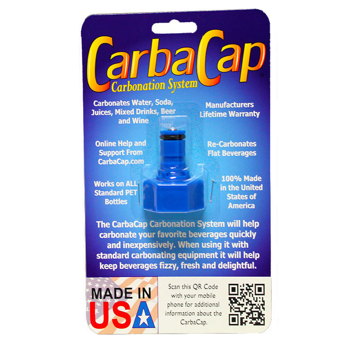 The CarbaCap Carbonation Fitting for PET Bottles