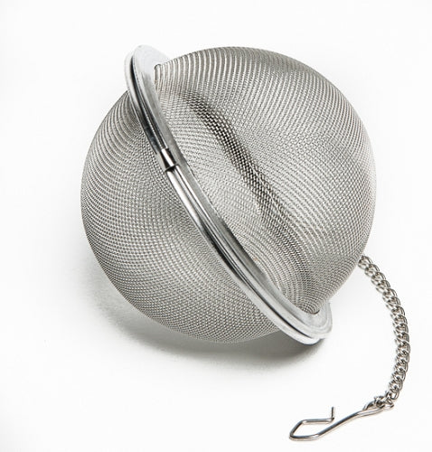 Stainless Steel Hop Steeper - Herb Ball - with Clip Chain