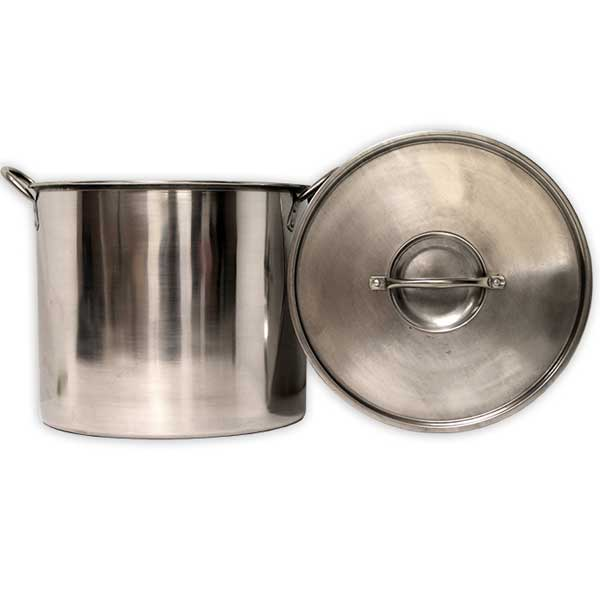 Eco Pot 20 Quart (5 Gal) Stainless Steel Boiling Pot