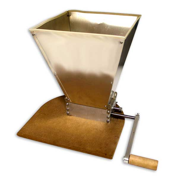 Roller Grain Mill with Stainless Hopper