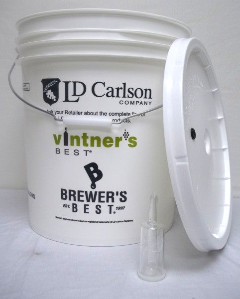 Primary Fermenting Kit 7.9 US Gallon (Bucket, Lid, Airlock)